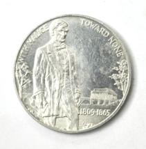Lincoln Memorial 25th Anniversary 1c Token 39mm Aluminum Charity All Mal... - $19.79
