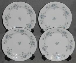 Set (4) Johann Haviland Blue Garland Desert Or B&B Plates - $17.81