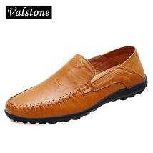 Valstone slip non 2018 Men Autumn handtailor Leather moccasins Shoes loa Italian PPHqpr