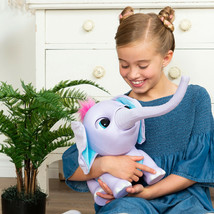 New Wildluvs Juno My Baby Elephant Electronic Pet For Kids Age 3 Or Older - $70.06