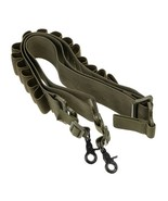 Tactical 2 Point Shotgun Ammo Sling Strap 15 Shells Holder Heavy Duty Me... - $10.98