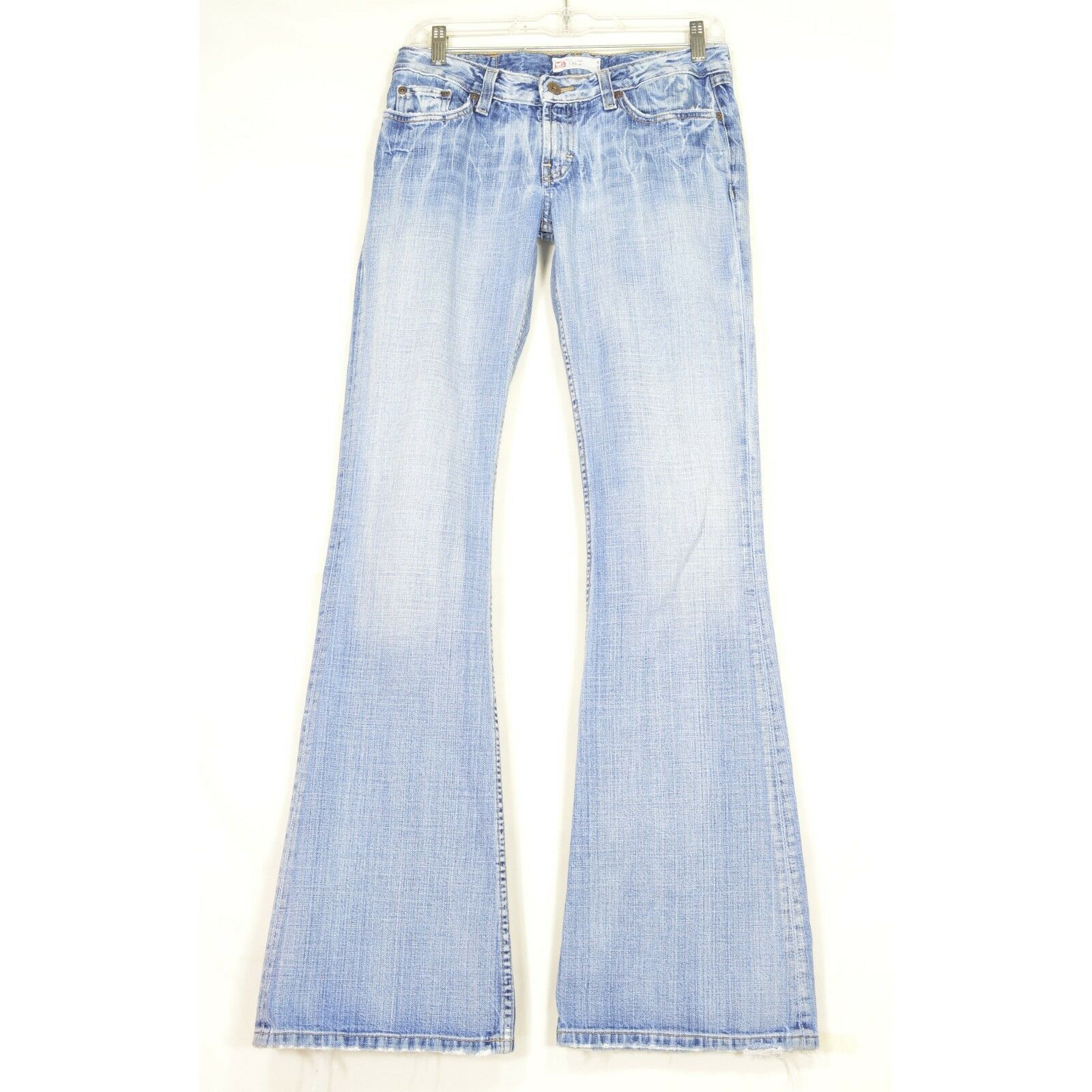 BKE jeans 28 x 35.5 Element straight leg flare bell bottom hippie boho distresse