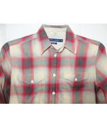 Ralph Lauren Plaid Flannel Shirt Classic Fit Size 4 Womens Blue Label Ta... - $24.25