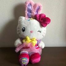 Hello Kitty USJ Easter Limited Plush Doll Rabbit Bunny Tulle 2018 Sanrio JP F/S - $79.37