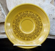 Fiesta Casualstone Gold Saucers Lot of 15 Vintage Retired Homer Laughlin HLC - $19.99