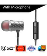 QKZ DM3 Luxury Stereo Earphone with Microphone - $19.99