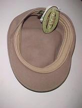 Scala Classico Handmade 1921 Adult Unisex Tan 100% Wool Newsboy Cap S Ne... - $29.69