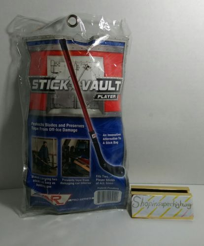 PRO SERIES HOCKEY STICK COVER A & R ALLIED ENTERPRISE STICK VAULT PLAYER