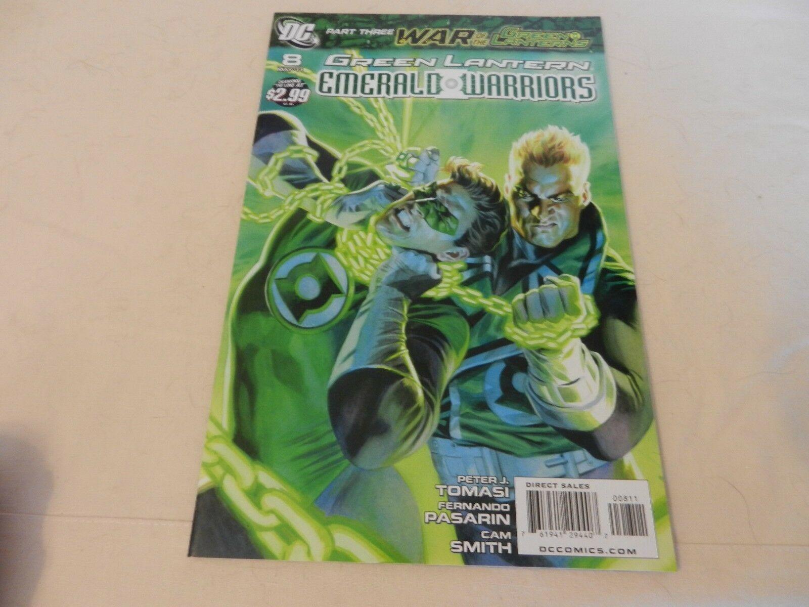 Green Lantern Emerald Warriors War of The Green Lantern DC Comics #8 May 2011