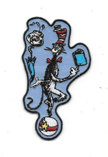 Primary image for Dr. Seuss' Animated TV Show The Cat In The Hat Juggling Embroidered Patch NEW