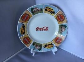 COCA-cola Plate Ceramic D22 - $9.89