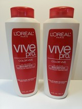 L'Oreal Paris Vive Pro Color Vive Hi-Gloss Shampoo for Color-Treated Hai... - $49.40
