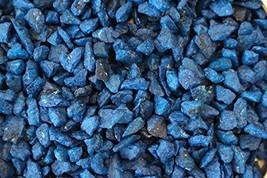 Exotic Mini 4-6mm Blue Beach Pebble Stone Rocks/Polished Pebbles - Terra... - $19.45