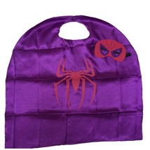 Starkma Kids Unisex Spidergirl Superhero Cape & Mask Costume - $8.72