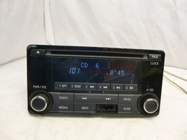 2015 15 Mitsubishi Lancer Radio Cd Player 8701A185 BB37 - $31.19