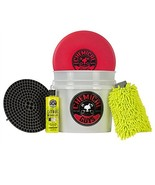 Chemical Guys Best Detailing Bucket Kit, 16 fl. oz (5 Items) Snap-on lid - $48.90
