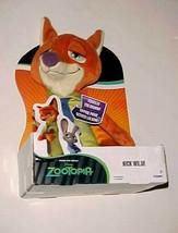 """Disney Zootopia Nick Wilde Fox 13.5"""" Talking Plush New - $24.74"""
