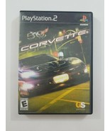 Corvette PS2 Game No Manual 2004 Take Two Interactive Software Playstati... - $4.99