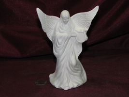 pyop Small Angel with a Harp U Paint Ready to Paint Ceramic Bisque - $6.99