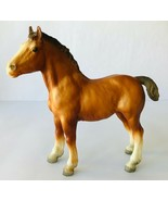 Breyer Clydesdale Horse Foal #84 Vintage 1969-1989 Matt Chestnut Traditi... - $47.41