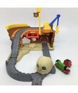 Thomas The Train Take n Play Pirates Cove Pirates Ship Playset- Incomplete - $21.49