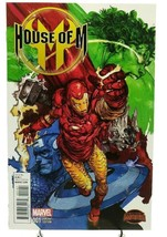 House of M #1 Manga Variant Cover Iron Man Marvel Comics Secret Wars 2015 - $5.94