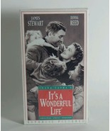 VINTAGE IT'S A WONDERFUL LIFE VHS CLASSIC BLACK WHITE UNCUT VERSION NIB ... - $6.85