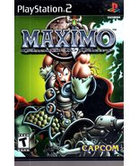 """PlayStation 2 - Maximo  """"Ghosts To Glory"""" - $9.95"""