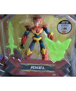 Playmates Power Players Action Figures Lot of 3 Zag Heroez NIB Axel Mask... - $34.64