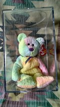 TY Beanie Baby- GROOVY bear with Tag Errors and rare Tush Tag - $128.86