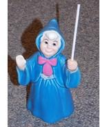 Disney Cinderella Fairy Godmother 4 inch Porcelain Figurine - $39.99
