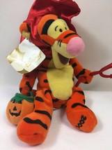Disney Store Exclusive Devil Tigger Halloween Plush Bean Bag Toy Winnie ... - $14.85