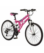 Mongoose Exlipse Full Dual-Suspension Mountain Bike For Kids, Featuring ... - $226.10
