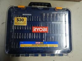 Ryobi Driving Accessory Kit 73 Piece Kit Used A967301 - $49.49
