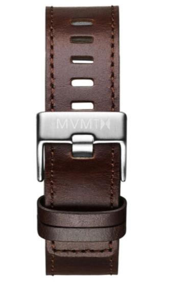 MVMT Chrono - 20mm Brown Leather Watch Strap - $29.95