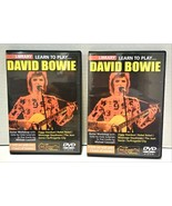 Lick Library Learn To Play David Bowie Guitar Workshop 2 DVD Set - $40.00