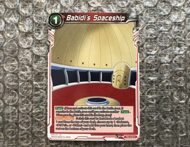 Babidi's Spaceship x1 (NM) - Dragon Ball Super TCG CCG Card - $3.92