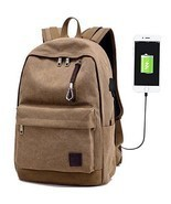 Hopesport X-05 Laptop Computer Backpack External USB Charge Port Headpho... - $722,72 MXN