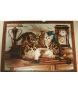 RIOLIS Furry Friends Into Mischief Cat Kitten Counted Cross Stitch Kit 1... - $19.99