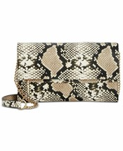 INC Averry Tunnel Convertible Snake Crossbody, Created for Macy's - $67.47