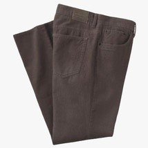 Croft & Barrow Classic Fit Corduroy Mens Tan Brown Pants 40 x 30 - $29.99