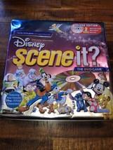 Disney Scene It? Deluxe Edition 100% Complete Game 2005 W/Collectors Tin - $39.99