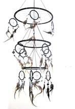 Dream Catcher Dreamcatcher Feather and Glass DreamCatcher Native America... - $31.20