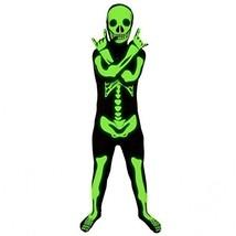 Morphsuits Glow in The Dark Skeleton Kids Halloween Costume - Large Blac... - $49.37