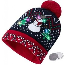 09b51ebe1 PUMICE Light Up Christmas Beanie Hat LED and 38 similar items