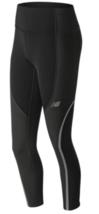 New Balance Winterwatch Size L Large Women's Activewear Tights Black WP83244