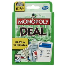 Monopoly Deal Card Game Hasbro Family Fun! - $16.88