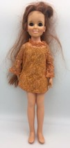 Vintage Ideal Toy Crissy Doll w Growing Red Hair Original Outfit GH-18 1... - $29.95