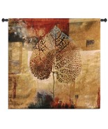 35x35 ABSTRACT AUTUMN Fall Leaf Tapestry Wall Hanging  - $109.95