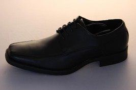 Mens Shoes Work Formal Black Lace Up Step On  Air Colin Leather Size 6-12 New - $42.03